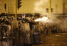 Se confirma que se dispararon canicas contra los manifestantes en la marcha del jueves