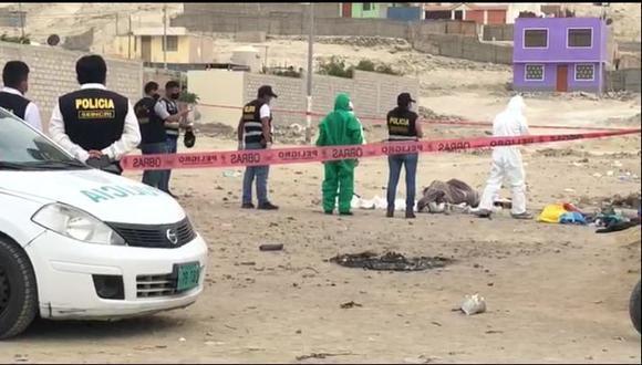 Arequipa: el cadáver de la adolescente fue hallado la tarde del último miércoles y estaba envuelto en una frazada. (Foto: Difusión)