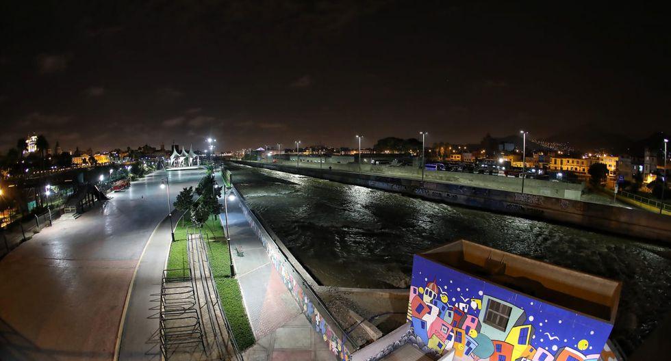 Así luce la ciudad en plena cuarentena. (Foto: Giancarlo Avila/GEC)