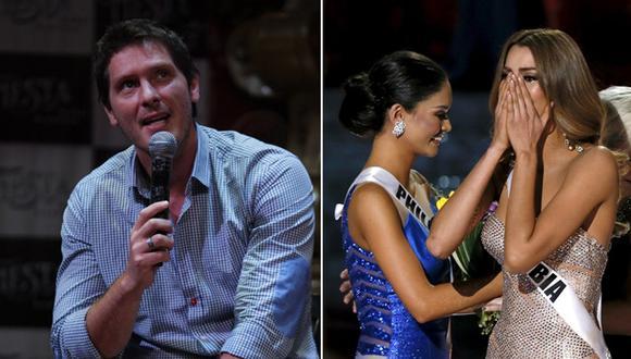 """Cristian Rivero sobre error en Miss Universo: """"Soy el pionero"""""""