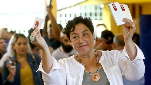 """""""Mañana quiero una explicación"""" de las empresas encuestadoras, exigió eatriz Sánchez tras la primera vuelta electoral en Chile. (Foto: AP)"""