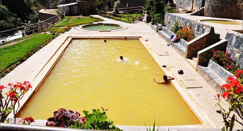 Aguas termales de Lares