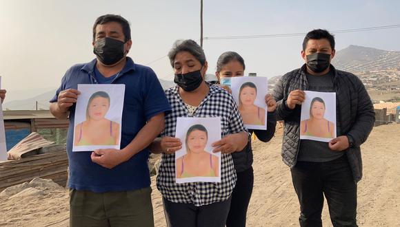 La familia de Jackeline pide que la justicia no permita que el presunto asesino de su hija salga libre. (Foto: Lourdes Fernández)