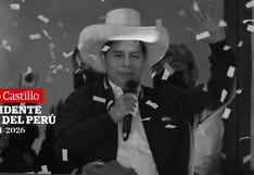 Pedro Castillo, presidente electo: última hora de hoy, en directo