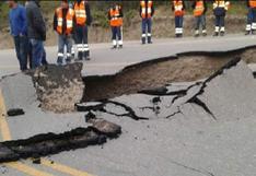 Sismo en Loreto: MTC asegura que carretera de Cajabamba estará habilitada al 100% en tres días