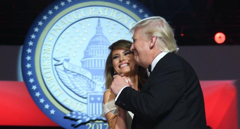 US$ 10,000 en maquillaje: Estos son los exagerados gastos de la toma de posesión de Trump. (AFP)