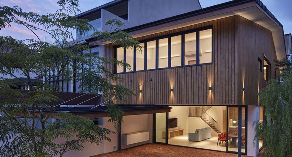 Los arquitectos del estudio Atelier M + A se encargaron del diseño de esta casa de 250 m2 ubicada en Singapur. (Foto: Masano Kawana /atelier-ma.com)