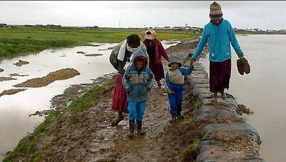 Tacna soportó la temperatura más baja en el sur del país