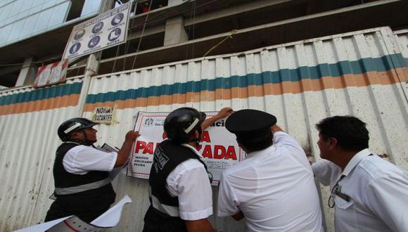 Allison: San Isidro no puede clausurar obras en zona de litigio