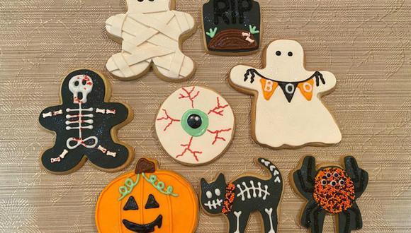 Galletas para Halloween. (Foto: cupcakesfactory01 - Instagram)