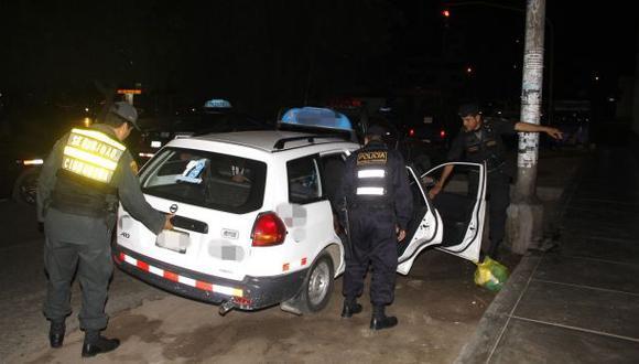 En esta camionera era secuestrada la estudiante de una universidad local. (Foto: Seguridad Ciudadana de Trujillo)