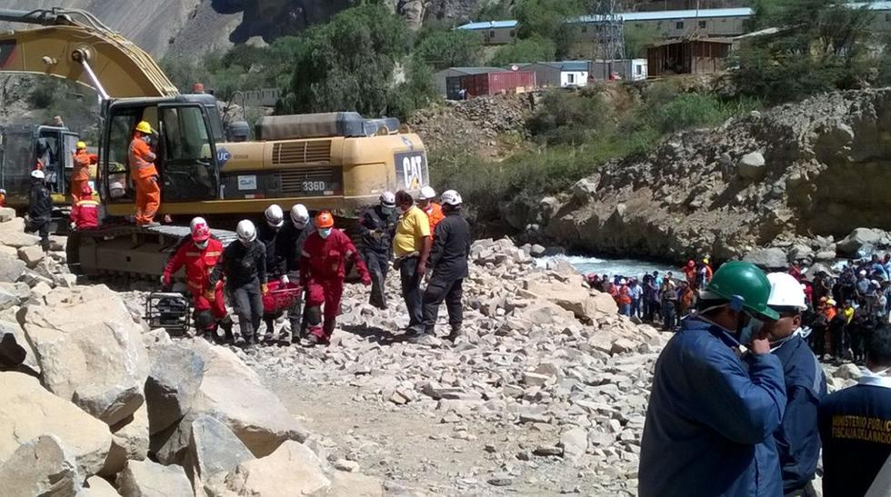 Churín fue escenario de un largo y trágico rescate [FOTOS] - 20