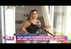 Tilsa Lozano muestra su exclusiva casa de playa en Punta Hermosa