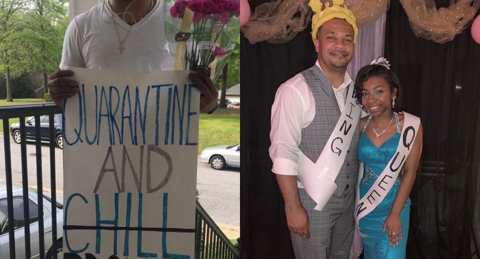Randle jamás espero que su padre la sorprendiera invitándola a un 'baile de promoción' organizado por su familia. (Foto: @OasisCMEChurch/Facebook)