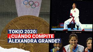 Tokio 2020: ¿Cuándo competirá Alexandra Grande?
