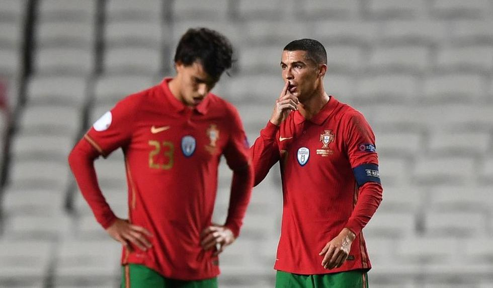 Portugal vs. Francia: con Cristiano Ronaldo, las imágenes del partido por la Liga de Naciones de la UEFA. (Foto: AFP)