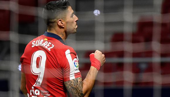 Luis Suárez anotó un doblete ante el Getafe y ya suma 3 tantos en la temporada. (Foto: AFP)