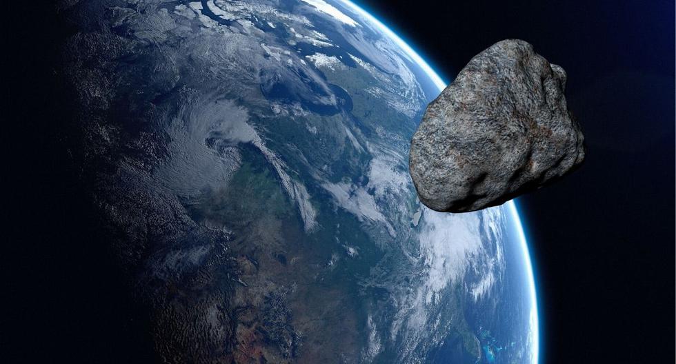 El asteroide fue detectado poco antes de su acercamiento a la Tierra. (Foto: Referencial - Pixabay)