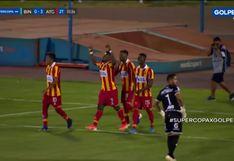 Supercopa 2020: Jefferson Collazos, al minuto del segundo tiempo, convirtió el 3-0 en el Miguel Grau | VIDEO