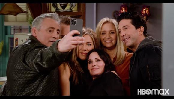 """Uno de los especiales más esperados de HBO Max es """"Friends: The Reunion"""", contenidos exclusivo de la plataforma de streaming.  (Foto: HBO Max)"""