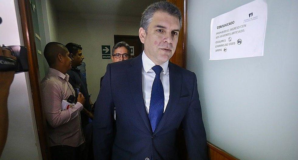 """El fiscal Rafael Vela destacó que las diligencias están siendo """"significativamente interesantes desde el punto de vista de las hipótesis de investigación del Ministerio Público"""". (Foto: GEC)"""