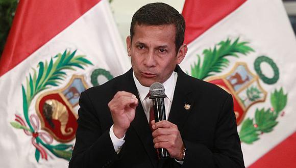 """Humala sobre gobierno: """"Faltó avanzar con masificación del gas"""""""