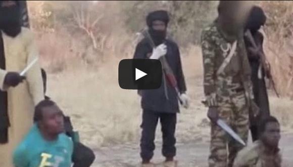 Boko Haram decapitó a dos hombres al estilo Estado Islámico