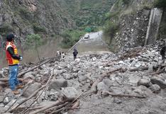 Apurímac: huaico mantiene bloqueado el paso de la vía Panamericana entre Abancay y Lima