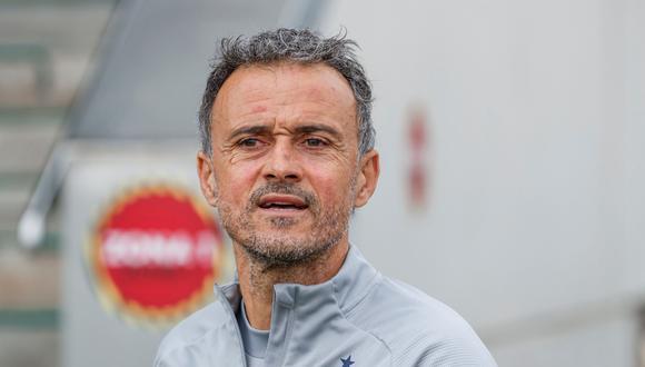 Luis Enrique es entrenador de España desde la temporada 2018. (Foto: EFE)