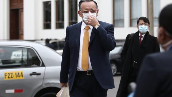 Edgar Alarcón, presidente de la Comisión de Fiscalización, dijo que se volverá a citar a Vicente Zeballos. (Foto: GEC)