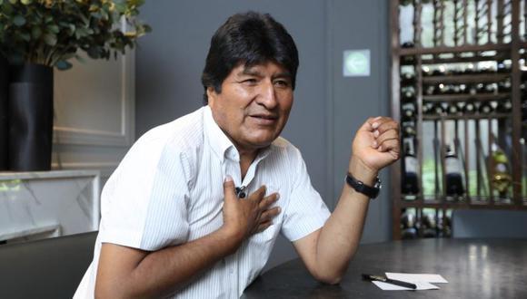 """Evo Morales, quien renunció a la presidencia de Bolivia, está asilado en México desde el martes pasado. (Foto: Germán Espinosa / """"El Universal"""" - GDA)"""