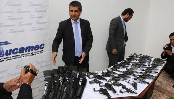 Incautan 79 armas y más de 20 mil municiones irregulares