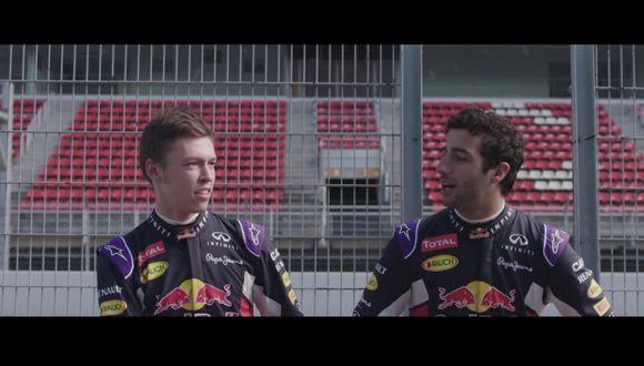 YouTube: El divertido video de presentación de Red Bull Racing