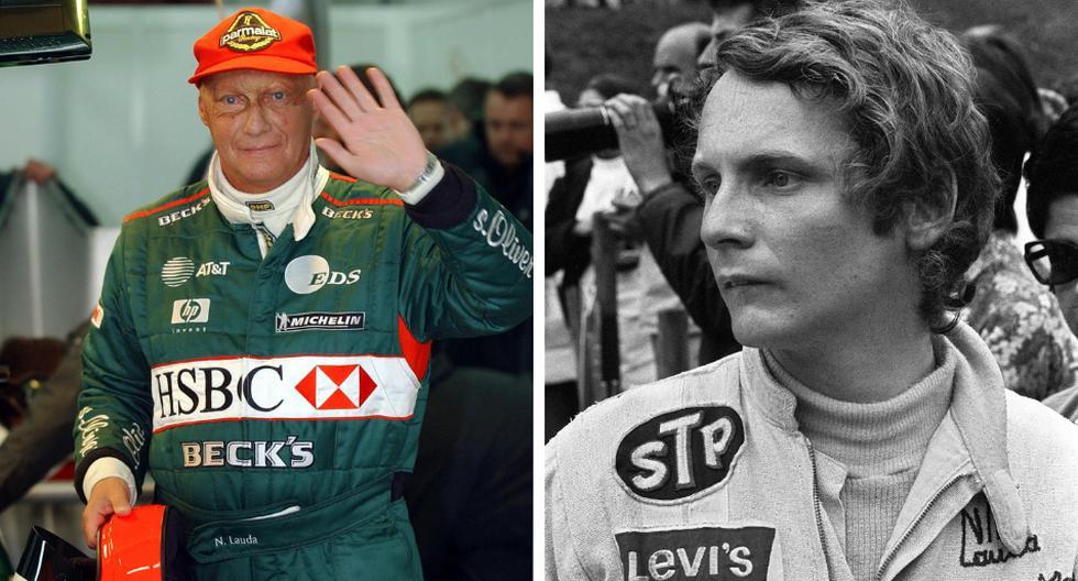Niki Lauda, quien conquistó tres títulos de la Fórmula Uno, incluidos dos después de un espeluznante accidente que le provocó graves quemaduras, murió a los 70 años. (Fotos: AFP)