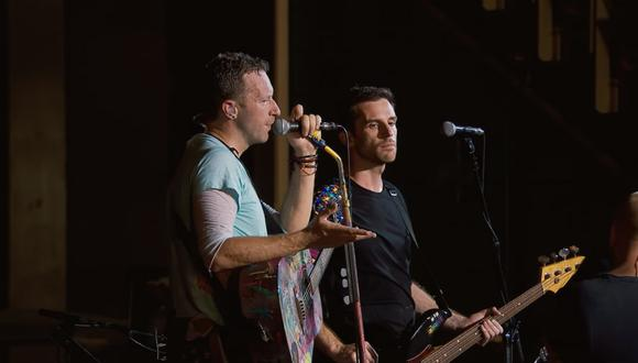 Coldplay durante concierto en Miami estrenó tema en homenaje a Houston y los afectados por el huracán Harvey. (Foto: Captura de pantalla/ YouTube)
