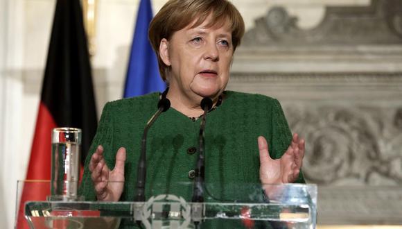 """""""No queremos una escalada en el conflicto"""" que vive Venezuela, señaló Merkel. (Foto: EFE)"""