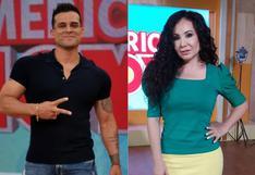 """Christian Domínguez tras """"suspensión"""" por discusión con Janet Barboza: """"Digamos que ambos no somos nuevos en TV"""""""