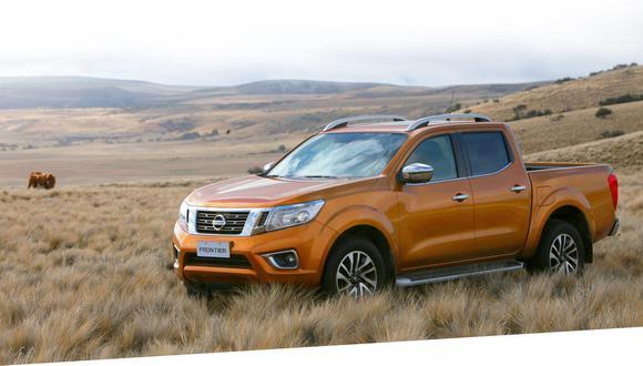 Nissan Frontier. (Foto: Difusión)