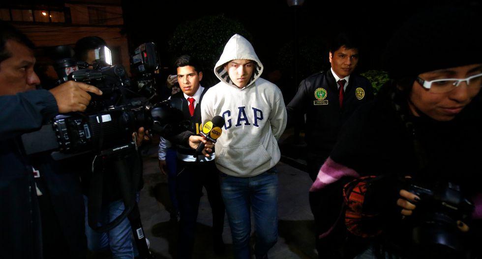 Leonardo Torres Molano fue detenido esta madrugada en Breña tras ser acusado de abusar de una menor. (Foto: Cesar Grados)