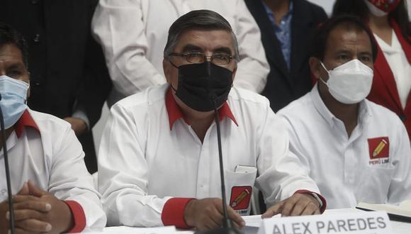 El legislador de Perú Libre indicó que dejó de ser portavoz porque busca presidir la Comisión de Educación del Congreso. (Foto: El Comercio)