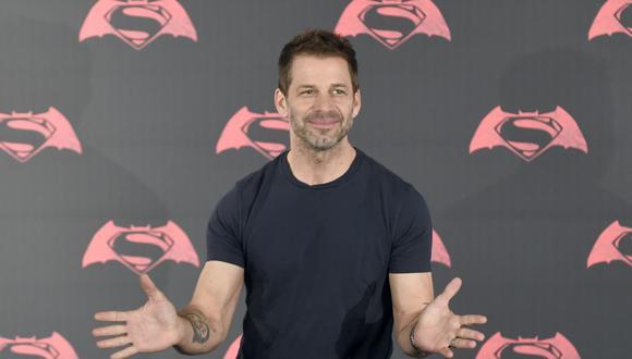 """El director Zack Snyder estaba trabajando en """"Justice League"""" cuando la abandonó tras la muerte de su hija. (AFP)."""