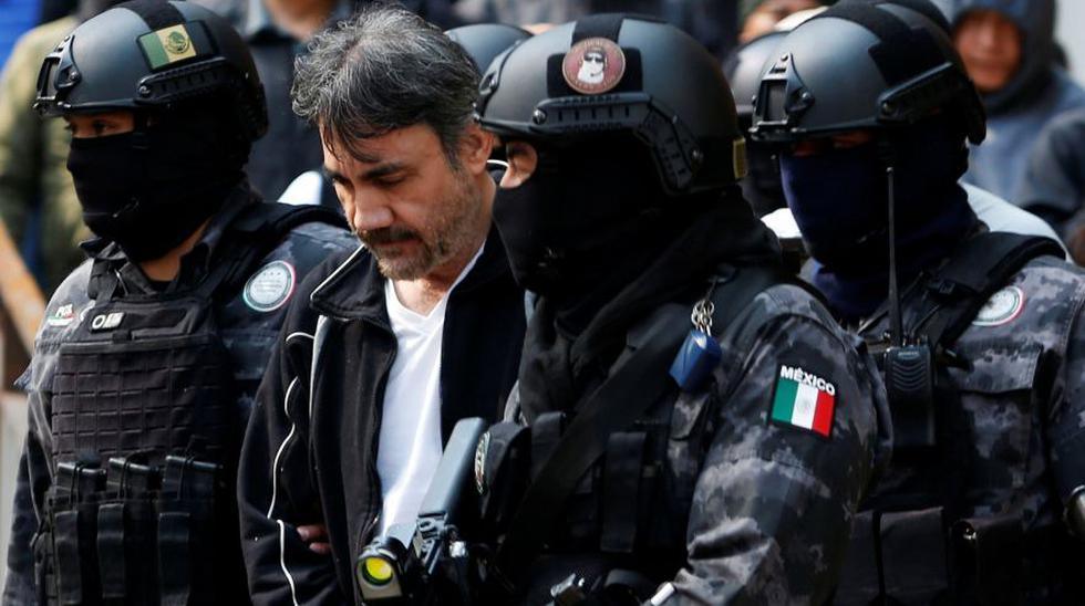 Dámaso López, alias 'El Licenciado', fue capturado en Ciudad de México. Durante mucho tiempo fue considerado la mano derecha de El Chapo Guzmán. (REUTERS/Carlos Jasso).