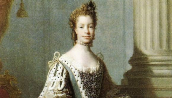 Sofía Carlota de Mecklenburg-Strelitz fue la esposa del rey Jorge III de Inglaterra. (Imagen: National Portrait Gallery)