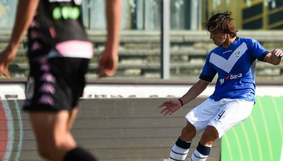 Sandro Tonali es considerado la nueva joya del fútbol italiano. Foto: Brescia