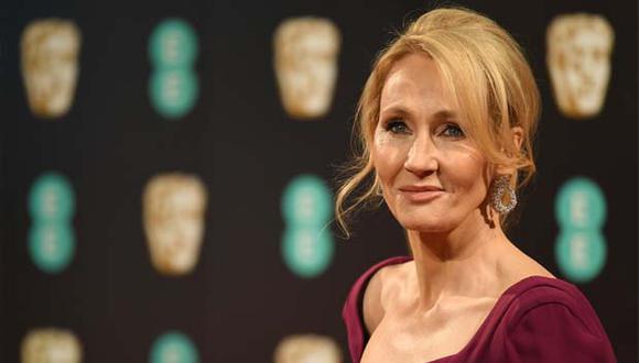La escritora J.K. Rowling publicará historia para niños en cuarentena. (Foto: AFP)