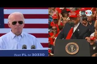Elecciones USA: Trump y Biden coinciden en Florida