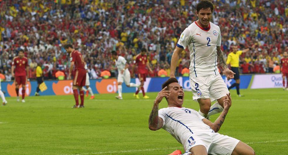 El desenfrenado festejo de Chile tras enviar a España a casa - 4