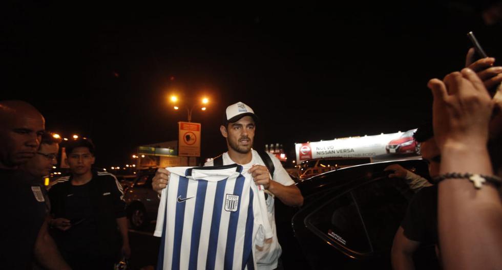 """""""No prometo más que humildad, trabajo y respeto para los hinchas"""", aseveró Luis Aguiar a su llegada. (Andrés Paredes / GEC)"""
