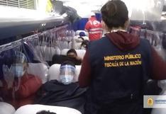 Lima: Intervienen bus con 61 migrantes procedentes de Tumbes
