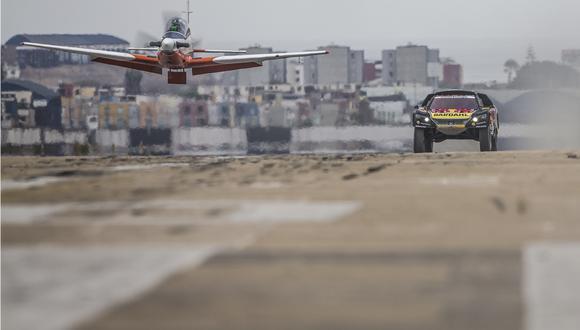 Dakar 2019: Sébastien Loeb desafió en velocidad a un avión y así le fue | VIDEO. (Foto: Red Bull Content Pool)